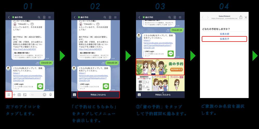 ファミリー予約方法01